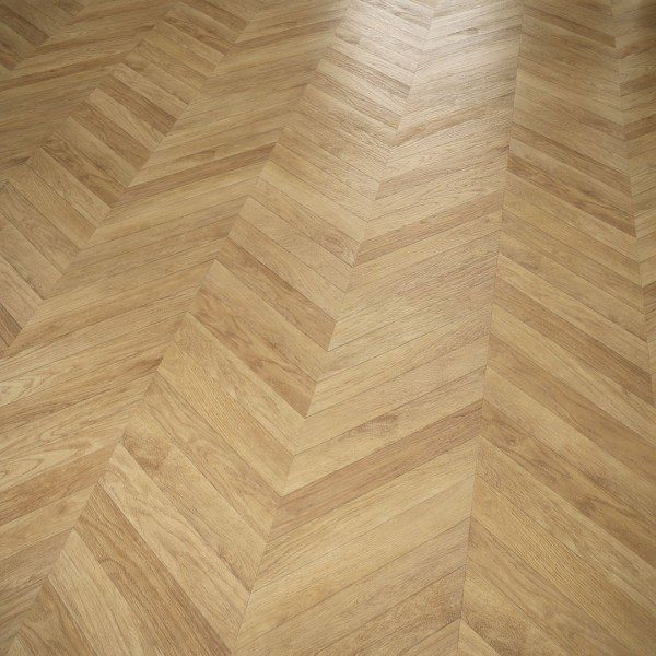 Natural Herringbone Faus Unique Laminate Flooring