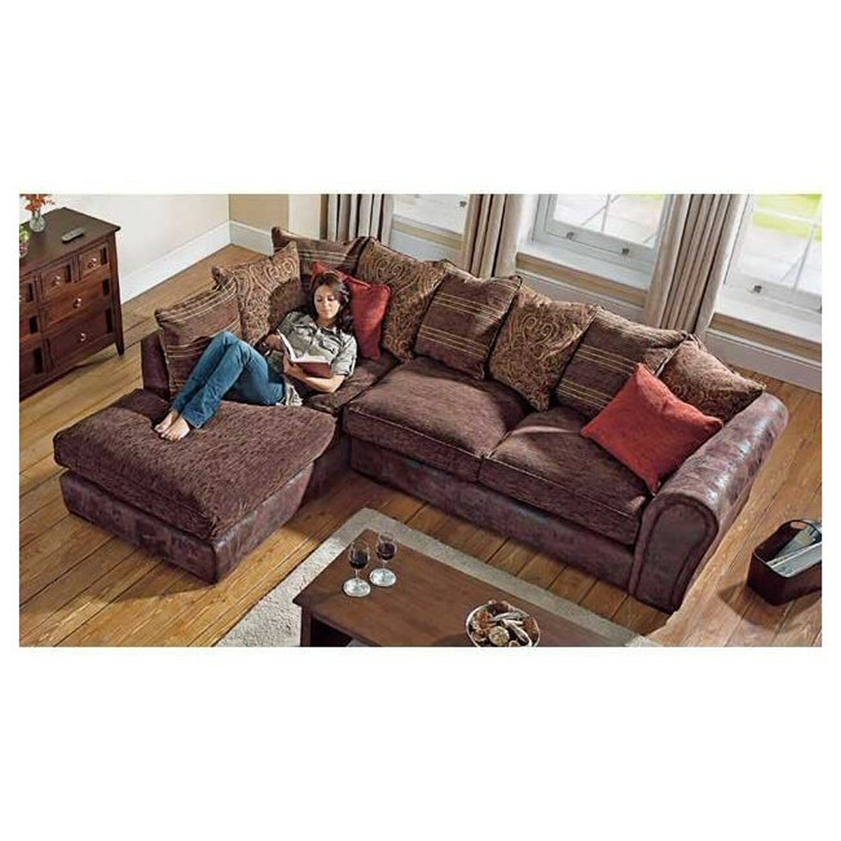 Sofa barcelona scatter corner for Outlet sofas barcelona