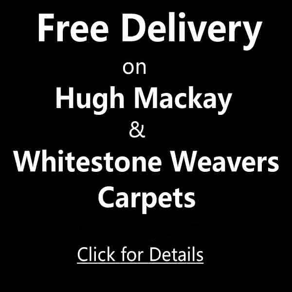 Free Delivery on Hugh Mackay and Whitestone Weavers from Moseley Interiors